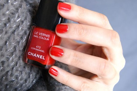 vernis à ongles chanel coromandel blog beaute