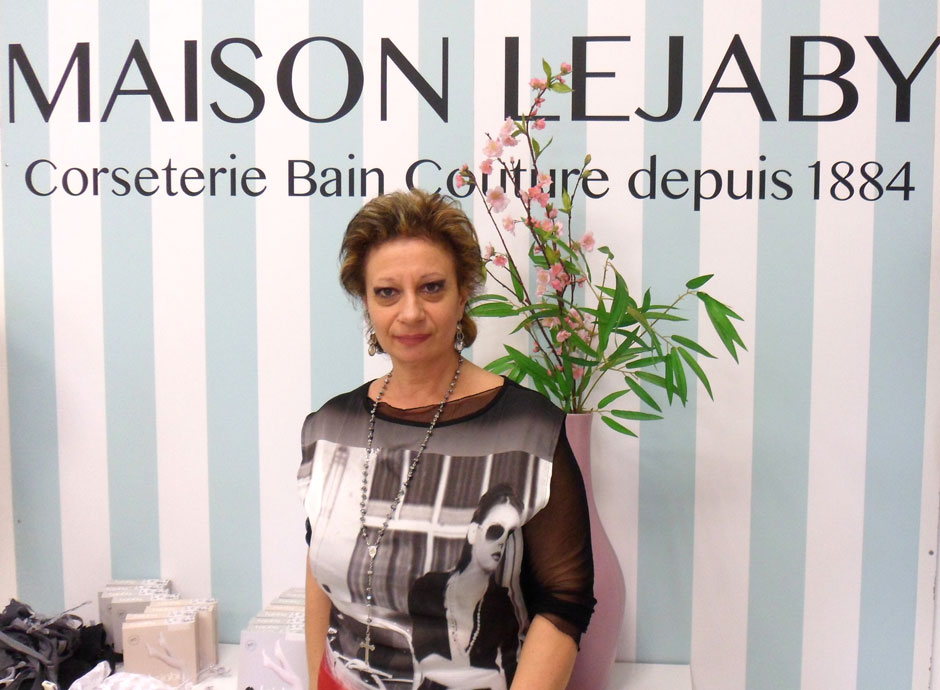 portrait helene maison lejaby couture made in france