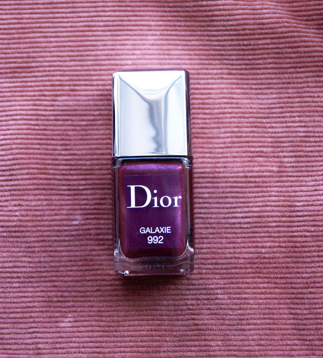 vernis à ongles dior galaxie blog beaute