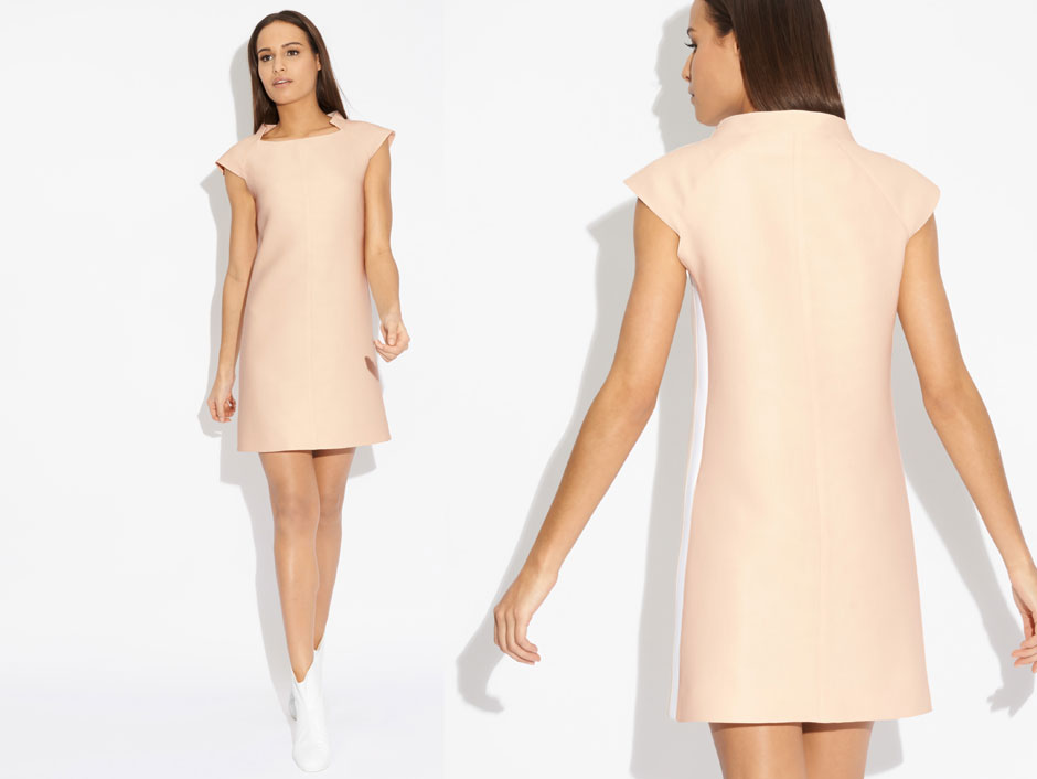 robe courreges fabriquee en france