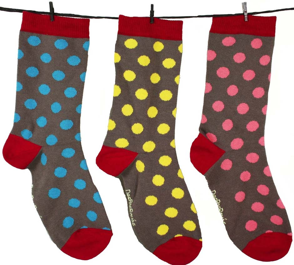 chaussettes des pas rayes made in france