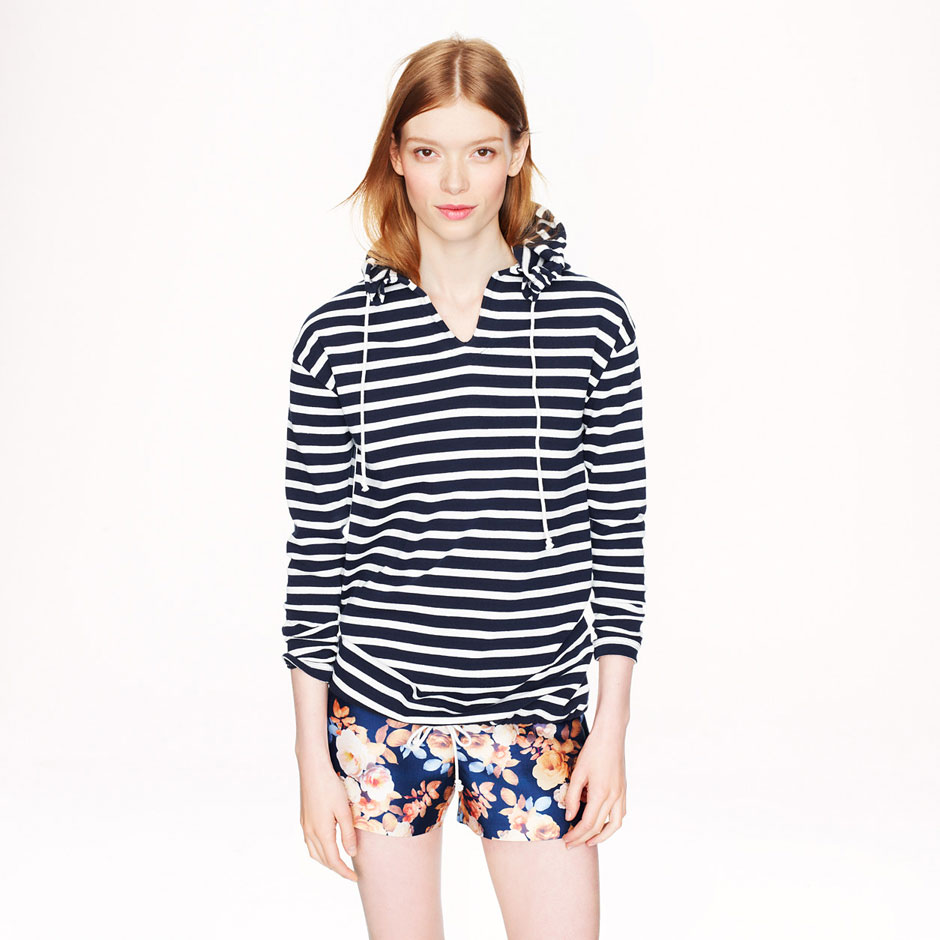 collaboration j crew saint james mariniere made in france
