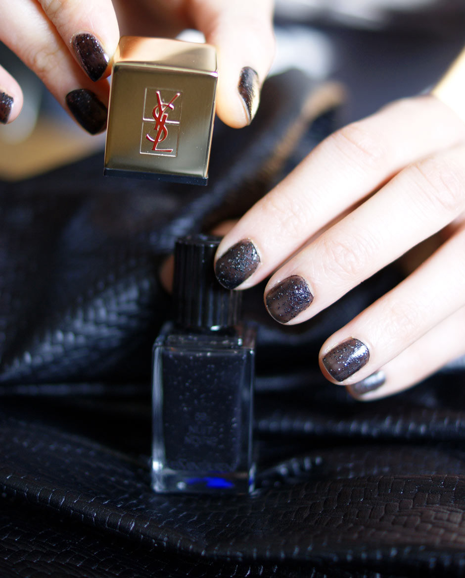 ysl vernis à ongles maquillage luxe nuit noire