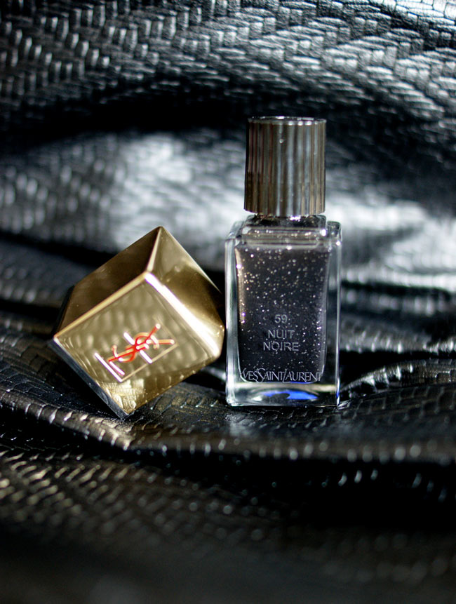 ysl nuit noire edition limitee maquillage made in france