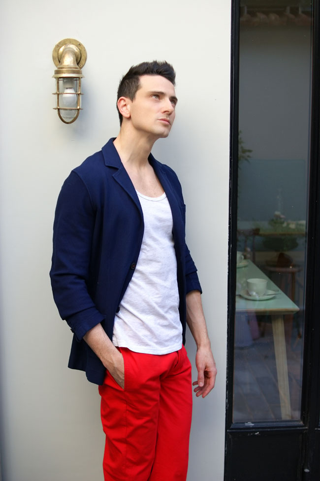 pantalon veste smuggler blog mode hommes made in france