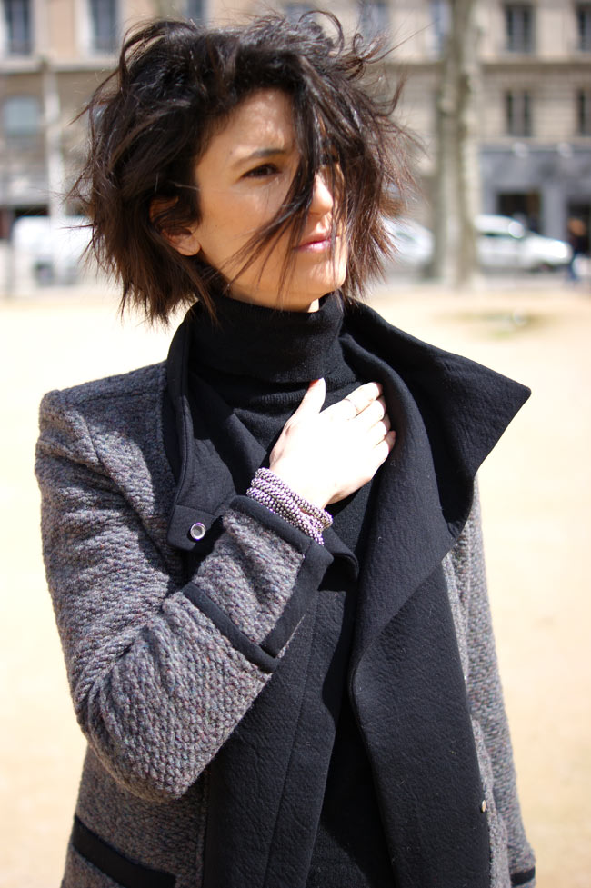 veste iro paris pull rodier made in france