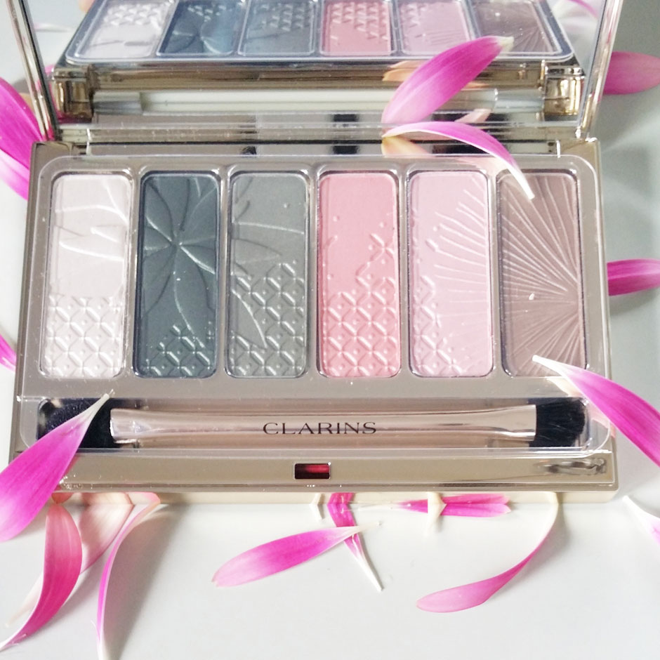 palette maquillage yeux garden escape clarins blog beauté