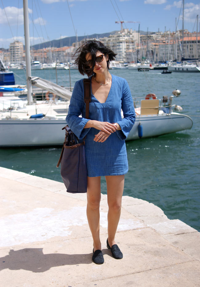 robe jeans accessoires made in france blog mode