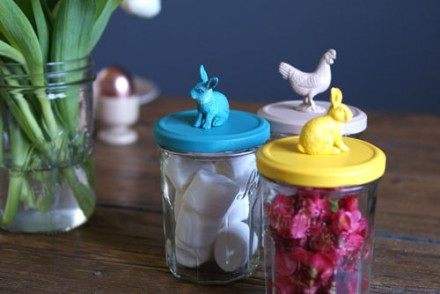 deco table paques lapin idee diy blog