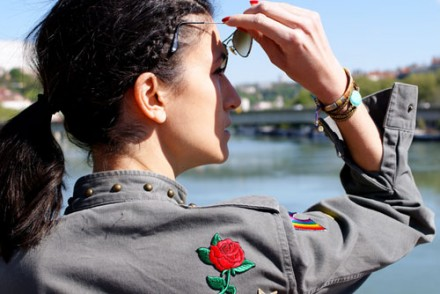 veste militaire customisee blog DIY
