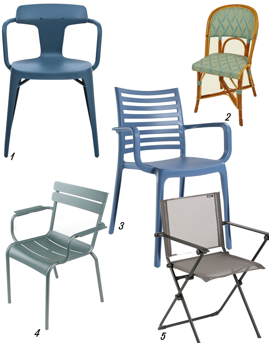 en]6 made in France outdorr chairs - Mode en France[:fr]6 chaises