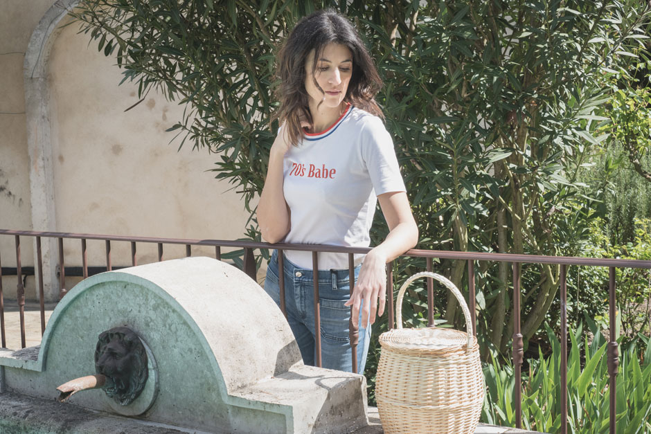 t-shirt col bleu blanc rouge made in france french cocotte