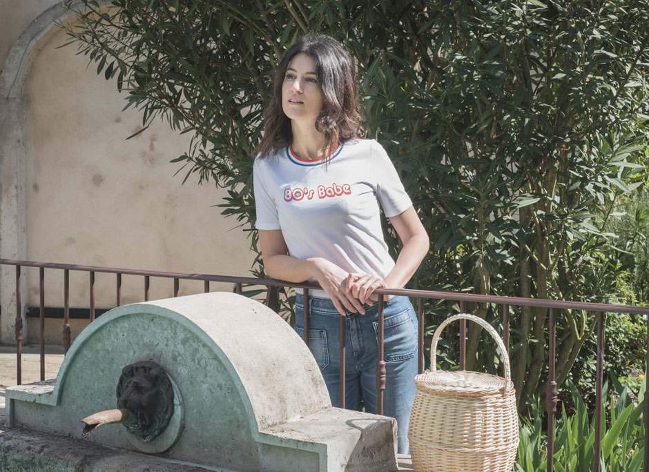 t shirt french cocotte fabrication francaise style vintage